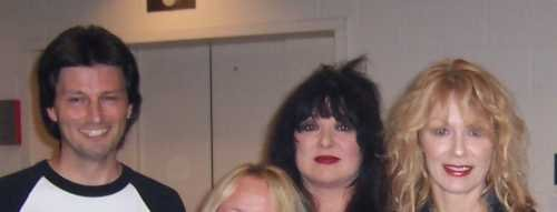 Me, Ann Wilson, and Nancy Wilson