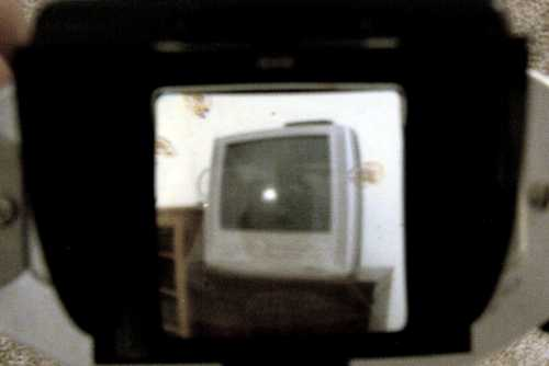 Brownie Reflex viewfinder