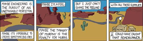 xkcd - Engineering Hubris