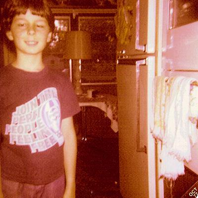 Me at Camp Grandma, 1977
