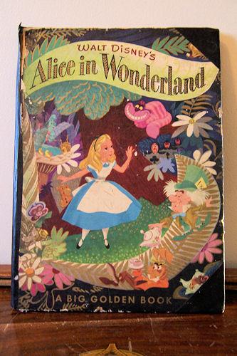 My mom's childhood Alice in Wonderland book