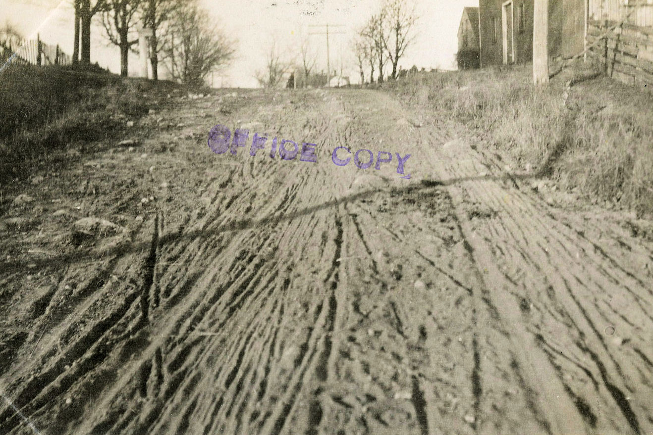 improving the rutted road down the road