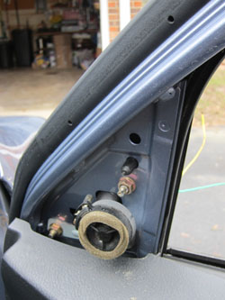 How To Replace The Side Mirror On A 2003 Toyota Matrix Down The Road