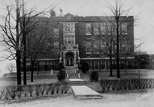 Crooked Creek School, 1927