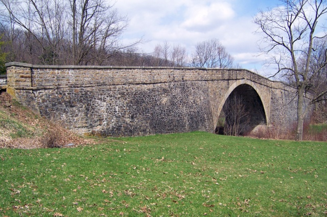 1813 stone-arch bridge, Garrett County, Maryland