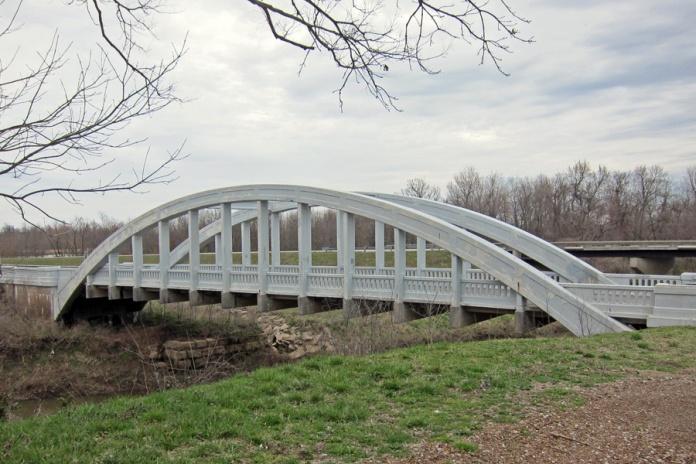 1923 Brush Creek Bridge, Cherokee County, Kansas