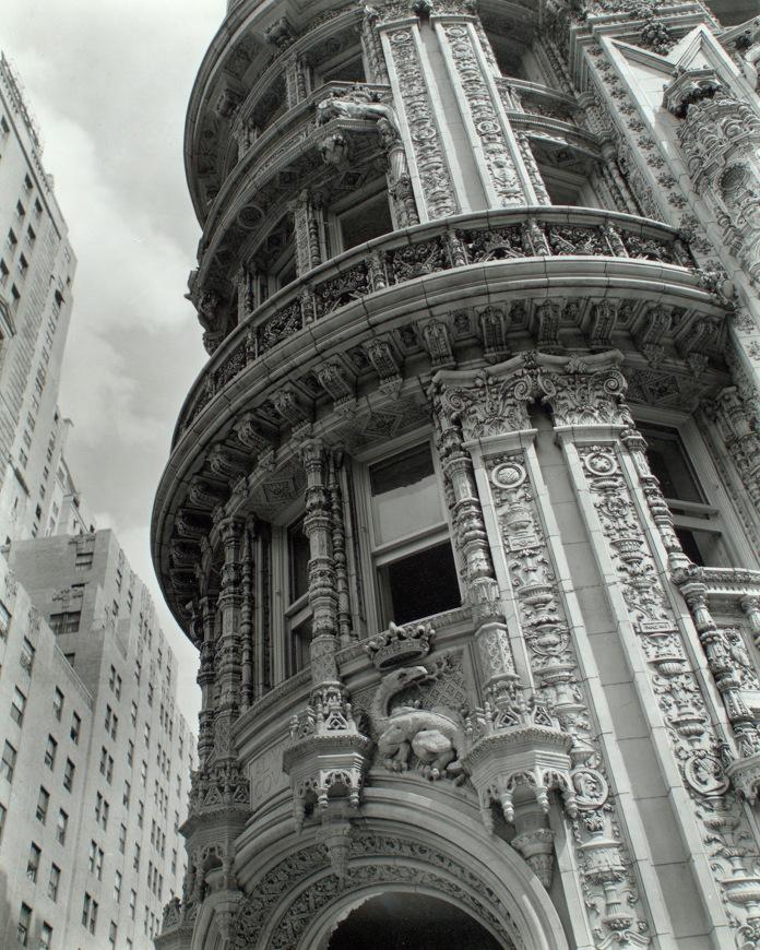Facade Alwyn Court, 174-182 West 58th Street and 911-917 Seventh Avenue, Manhattan, 1938