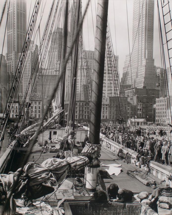 Theoline, Pier 11 or 12, East River, Manhattan, 1936