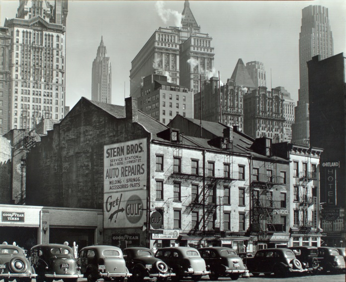 Vista from West Street, 115-119 West Street, Manhattan, 1938