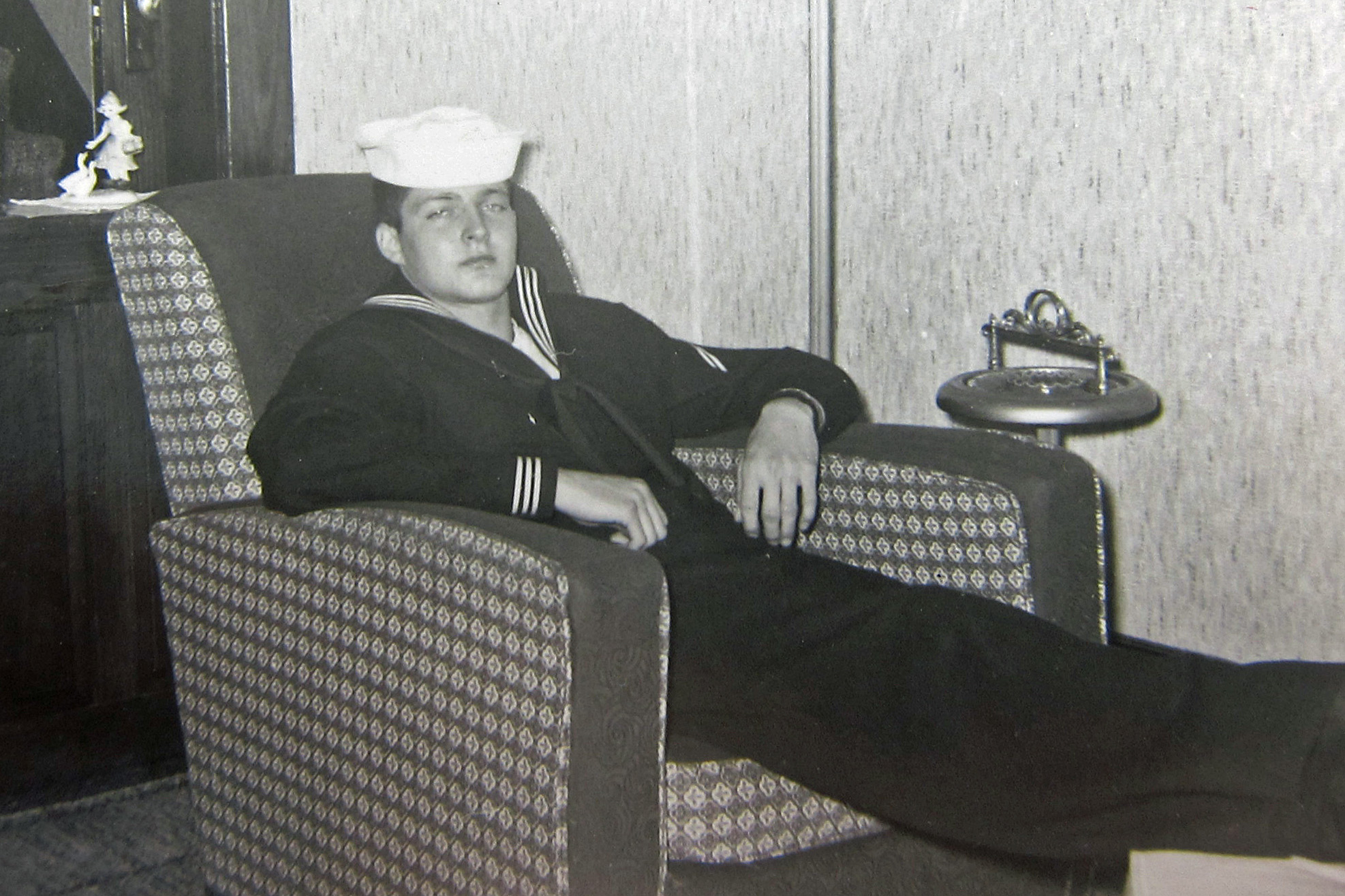 Dad home from boot camp 1960ish