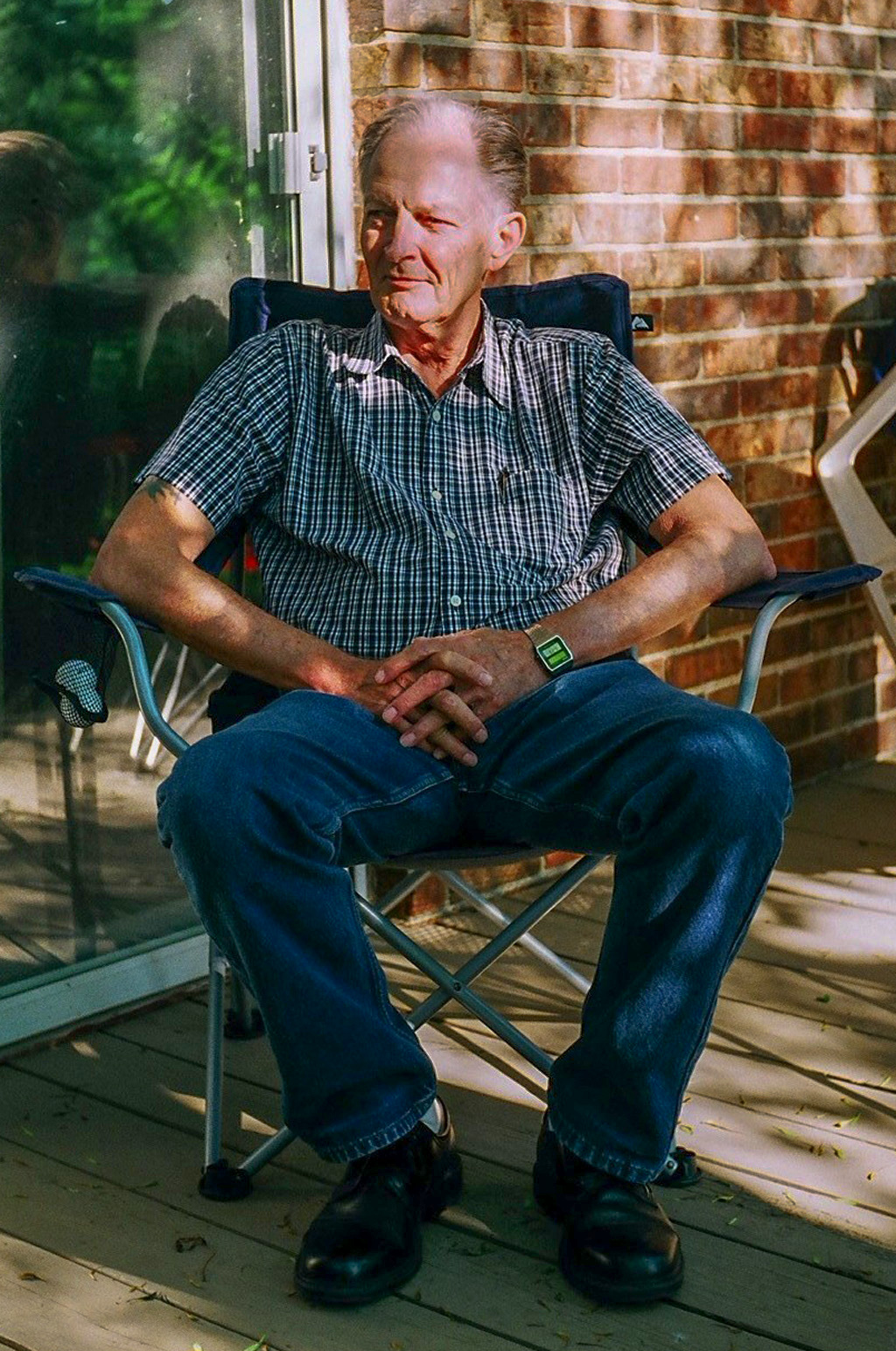 Dad in 2012